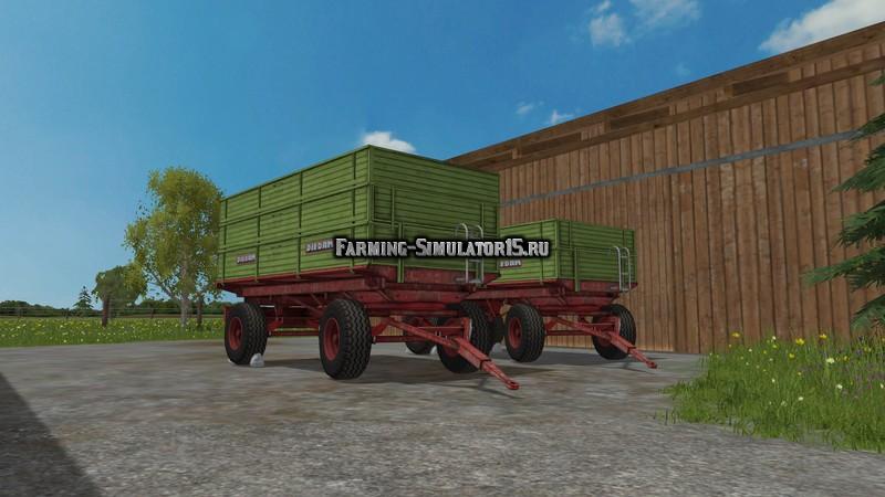 Мод прицепы Diedam Pack v 1.0 Farming Simulator 2015