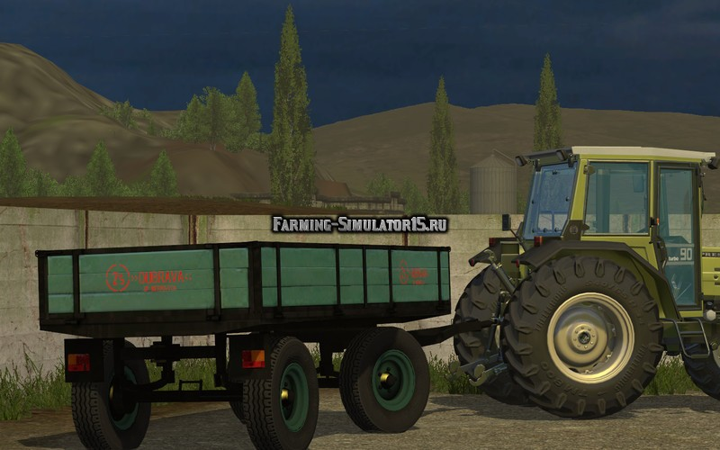 Мод прицеп Dubrava 2.5/5 T v 1.0 Farming Simulator 15