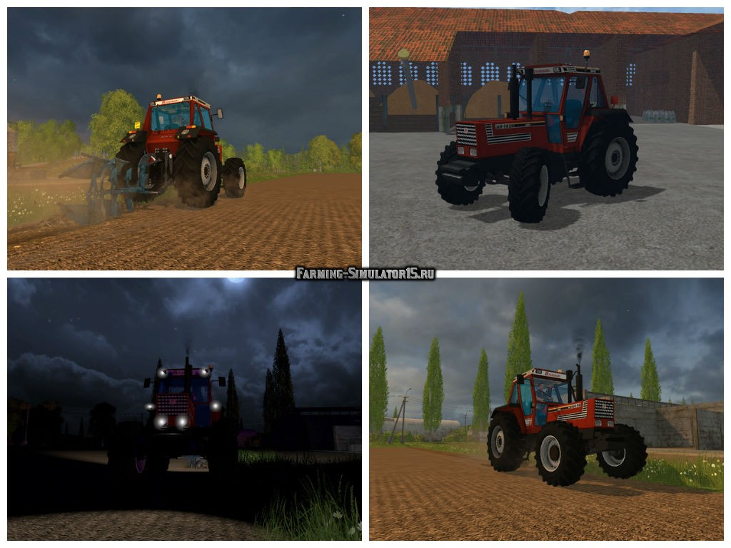 Мод трактор Fiatagri 160-90 v 1.0 Beta Farming Simulator 2015