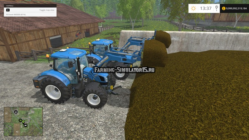 Мод вилы Fleming SGMF Forks v 1.0 Farming Simulator 2015