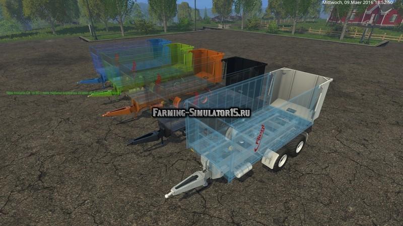 Мод прицеп Fiegl TMK 266 AcrylBull v 1.0 Farming Simulator 2015