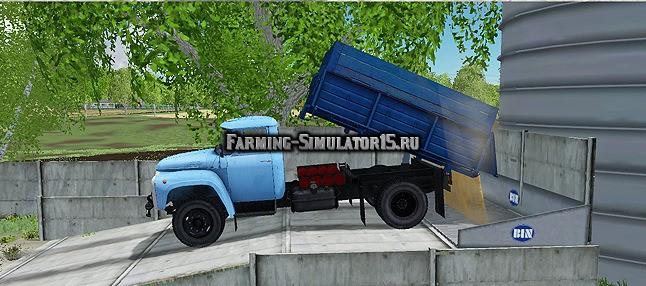 Мод грузовик ЗИЛ ZIL 130 v 1.0 Фермер Симулятор 2015