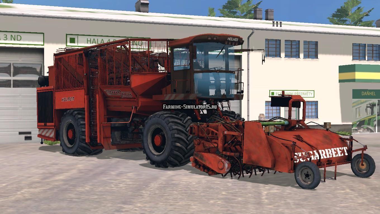 Мод комбайн HOLMER TERRADOS PACK V1.0 Farming Simulator 15