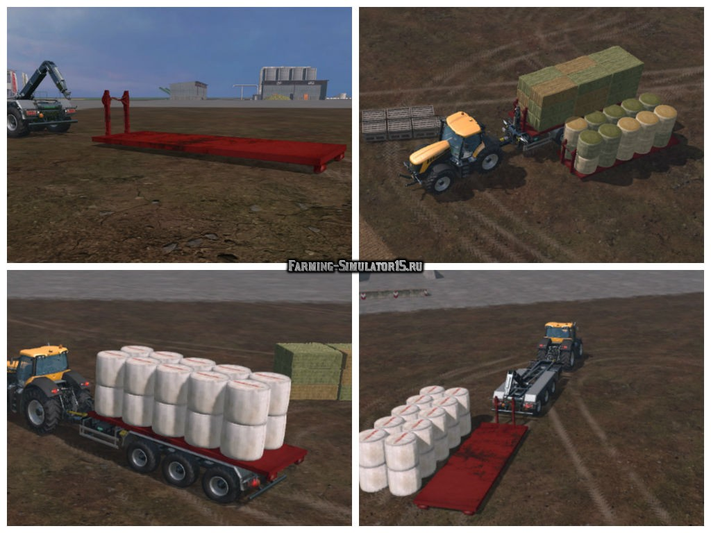Мод модуль IT bales v 1.0 Farming Simulator 15