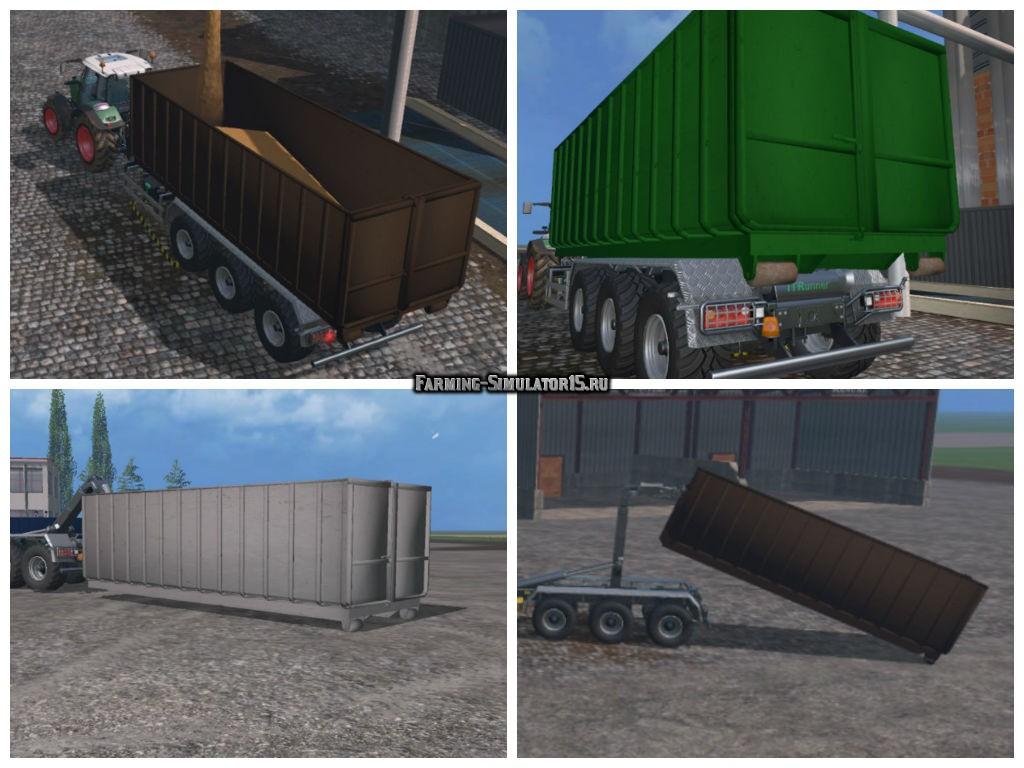 Мод контейнер IT Runner Container v 1.0 Farming Simulator 2015
