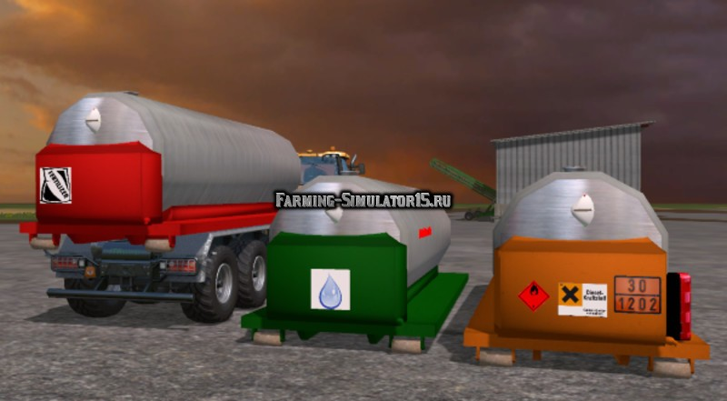 Мод IT Runner Universal Tank v 1.11 Fix Farming Simulator 15