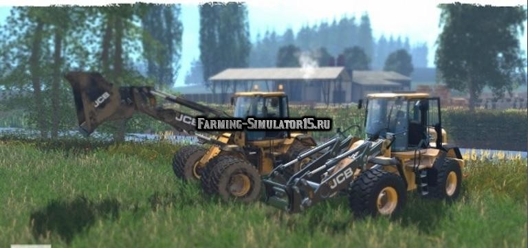 Мод погрузчик JCB 435S v 1.0 Farming Simulator 2015