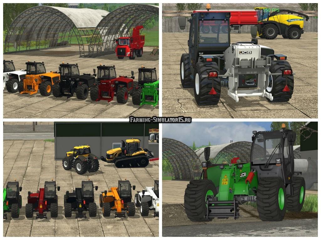 Мод погрузчик JCB 531 70 v 1.15 Farming Simulator 15
