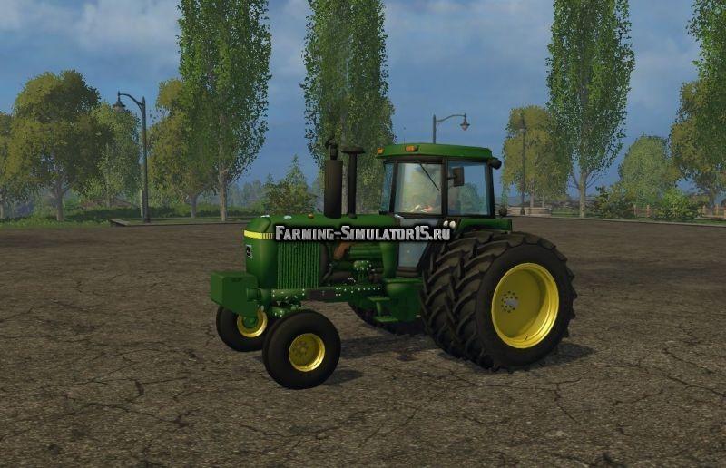 Мод трактор John Deere 4440 Final Farming Simulator 15