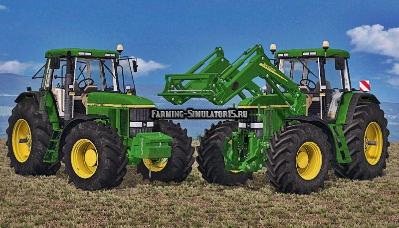 Мод трактор John Deere 7810 Моющийся Final Farming Simulator 2015