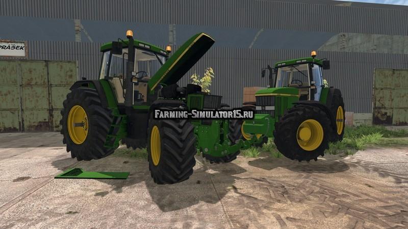 Мод трактора John Deere 7810 Pack v 2.0 Farming Simulator 2015