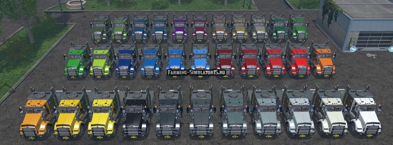Мод грузовик Kenworth v 1.0 Farming Simulator 2015