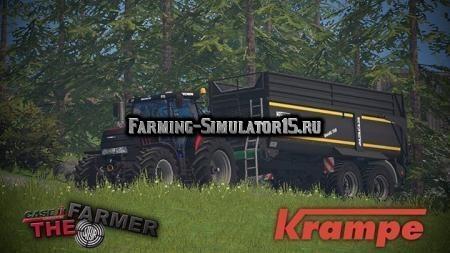 Мод прицеп Krampe Bandit 750 v1.0 Farming Simulator 2015
