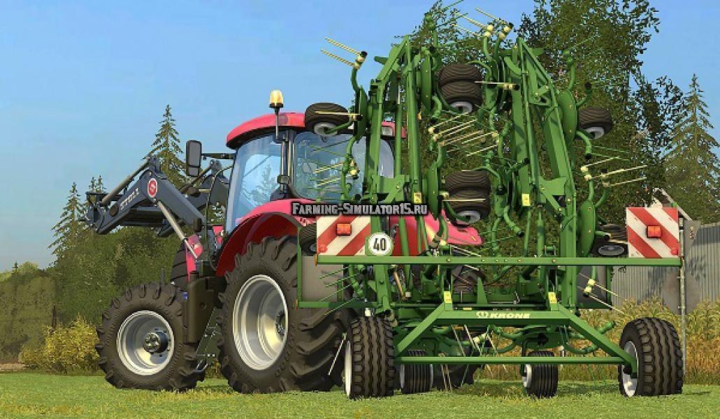 Мод валковая жатка KRONE KWT 11.22/10 для Farming Simulator 2015