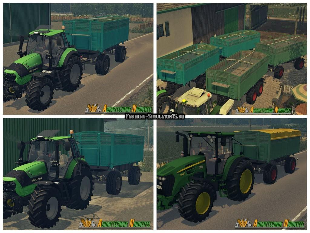 Мод прицепы Kempf HK 16t v 1.0 Farming Simulator 15