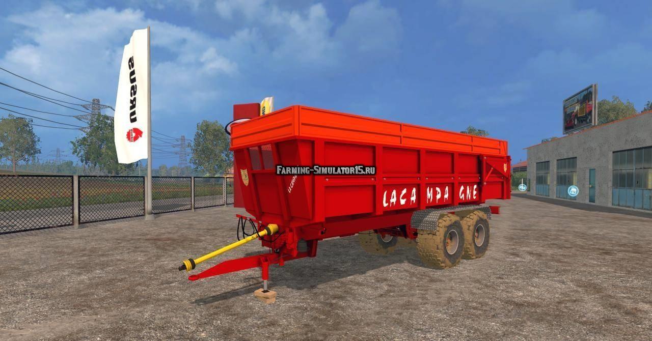 Мод прицеп La Campagne BBC18 Farming Simulator 2015