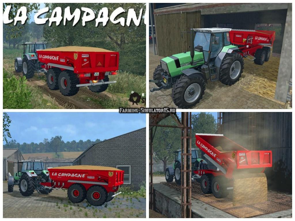 Мод прицеп La Campagne BTP24 v 1.0 Farming Simulator 15