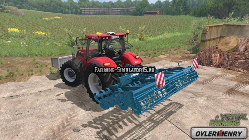 Мод культиватор Lemken Heliodor 8 v 1.0 Farming Simulator 15