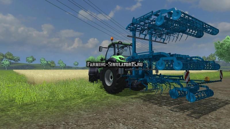 Мод культиватор Lemken Korund 750l v 1.1 Farming Simulator 15