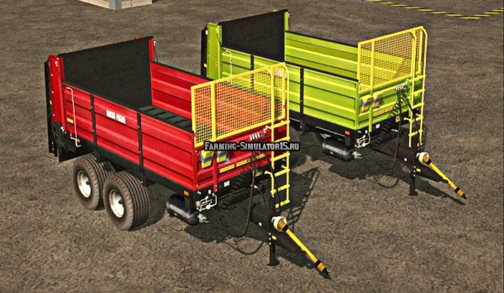 Мод прицеп Metal Fach N267.1 v 1.0 Farming Simulator 15