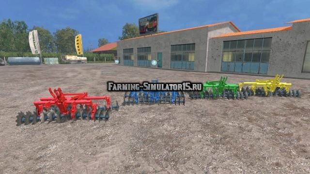 Мод культиватор OLT Sava 28 v 1.0 Farming Simulator 2015