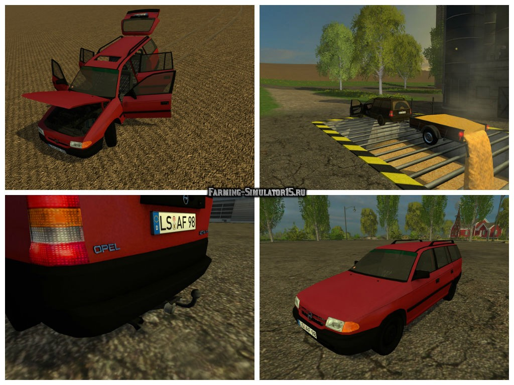 Мод авто Opel Astra F Caravan v 1.0 Farming Simulator 15