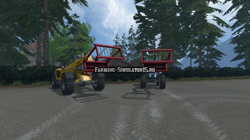 Мод захваты Quader Ballenzange v 1.2 Farming Simulator 15