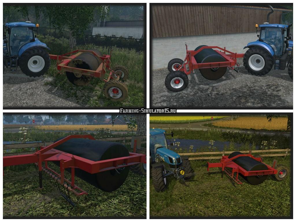 Мод катки SMS LV 300 v1.0 Farming Simulator 15