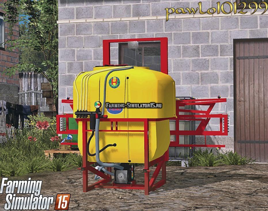 Мод опрыскиватель Biardzki P-329/2 Farming Simulator 15