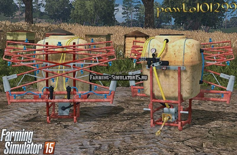 Мод опрыскиватель Sprayer Termit Farming Simulator 15