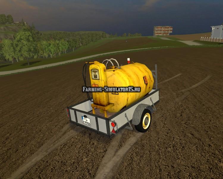 Мод бочка Small tankers v 1.7 Farming Simulator 2015