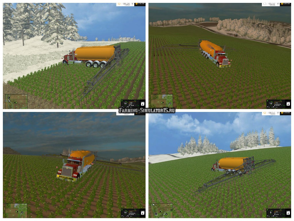 Мод Tanque sprayer v 1.0 Farming Simulator 15