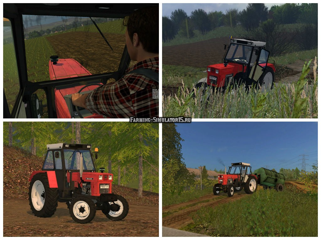 Мод трактор Universal 651 4×4 v 1.0 Farming Simulator 2015