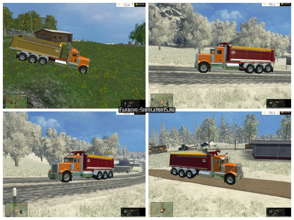 Мод кузов Volqueta Joper v 1.0 Farming Simulator 2015