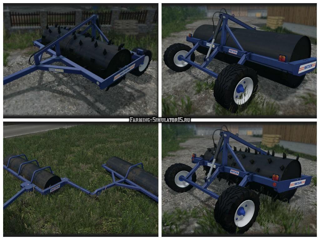 Мод катки Watson Rollers Pack v2.0 Farming Simulator 2015
