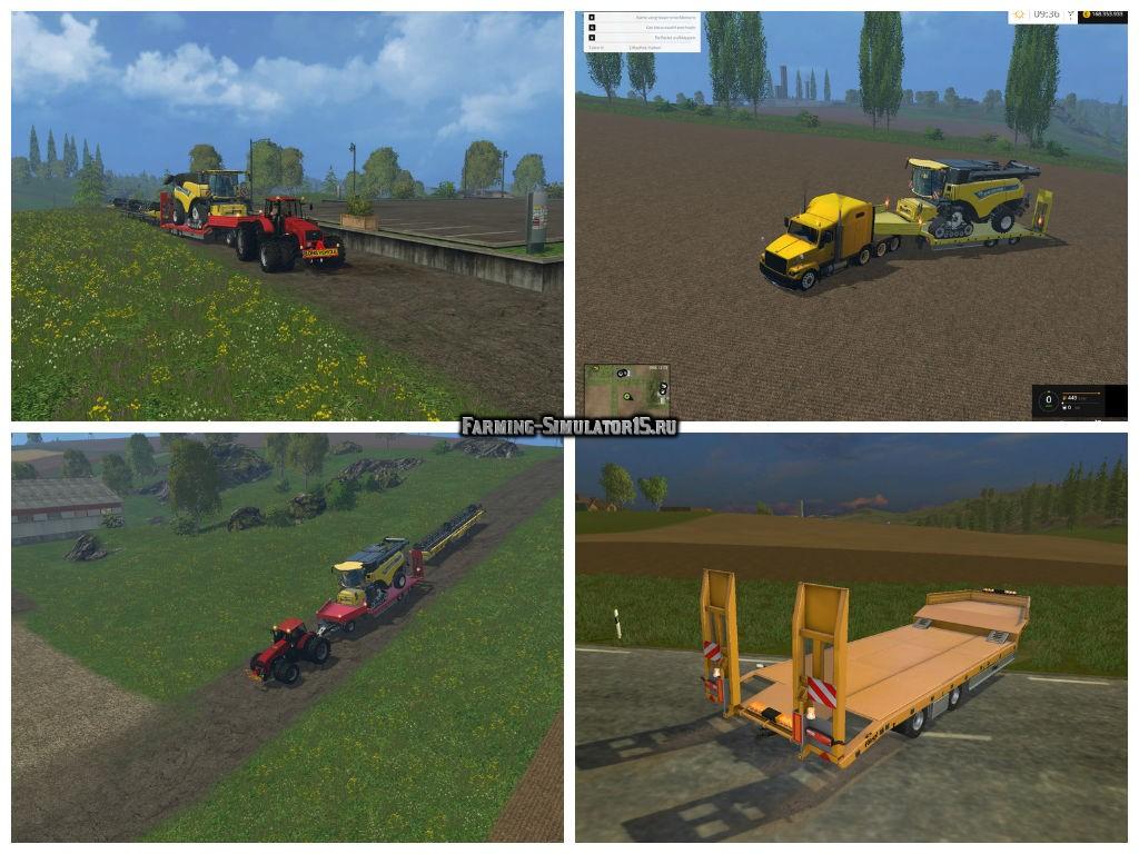 2015 simulator farming мод трал фото для