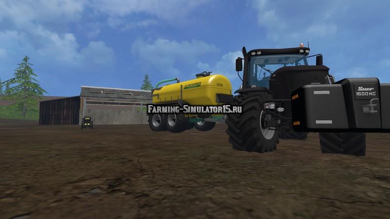 Мод бочка Zunhammer Manure Transport v 1.0 Farming Simulator 2015