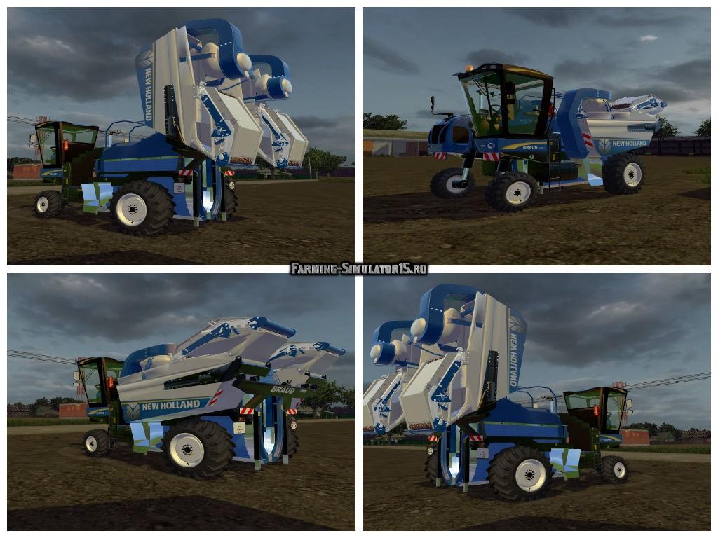 Мод комбайн New Holland 9060L v1.0 Farming Simulator 15