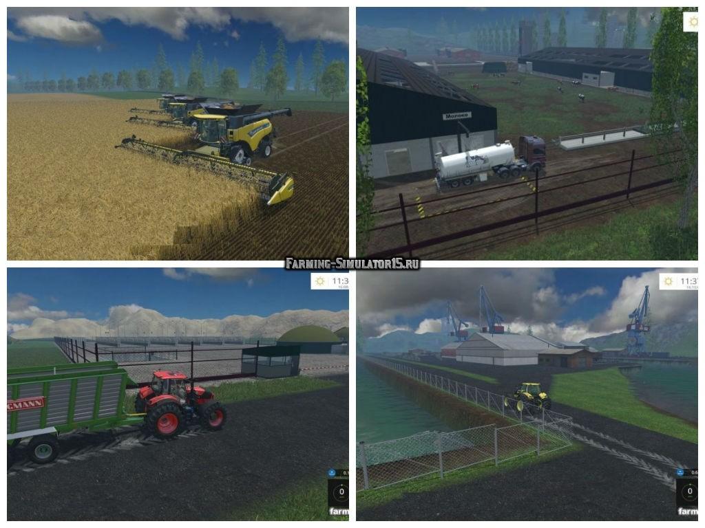 Мод карта Килия Farming Simulator 2015