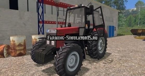Мод трактор МТЗ 1025.2 Беларус v2.0 Фарминг Симулятор 2015