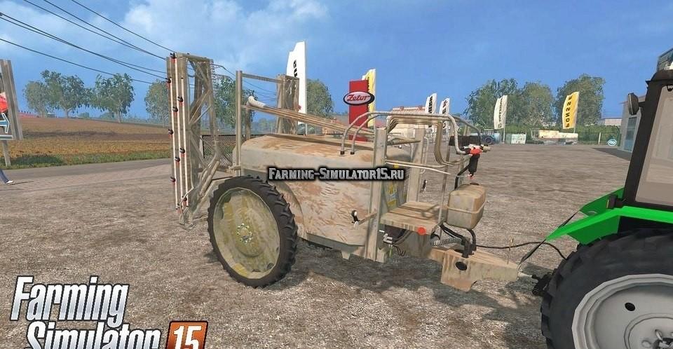 Мод опрыскиватель Unia Pilmet REX 251 Farming Simulator 2015
