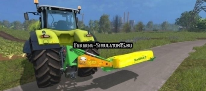Мод косилка SaMAZS KDT 260 v1.0 Farming Simulator 2015