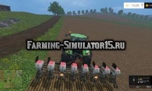 Мод сеялка Monosem Seeder v 1.0 Farming Simulator 2015
