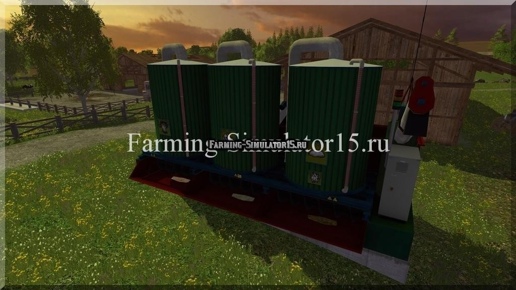 Мод миксер Mixing station RU Farming Simulator 15
