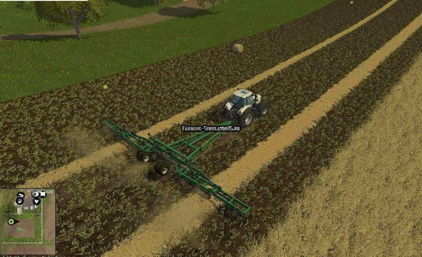 Мод опрыскиватель Great Plains Seedbed Conditioner v 1.0.0.0 Farming Simulator 15
