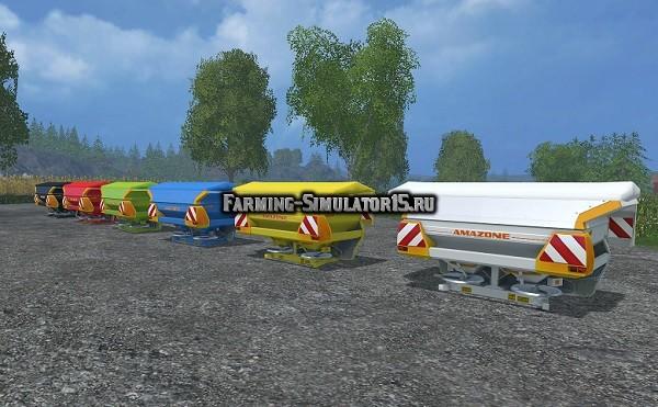 Мод опрыскиватель Amazone Zam 1501 & FT 100 Dyeable v 1.0 Farming Simualtor 15