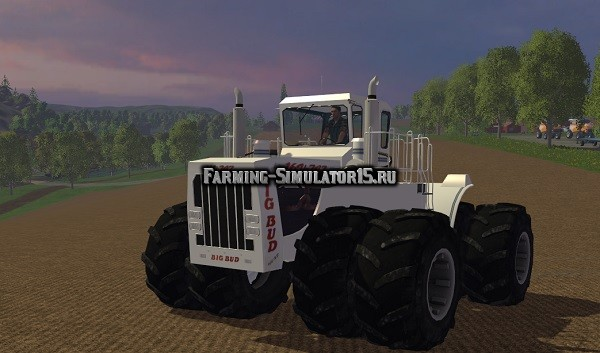 Мод трактор Big Bud v2 Farming Simulator 2015