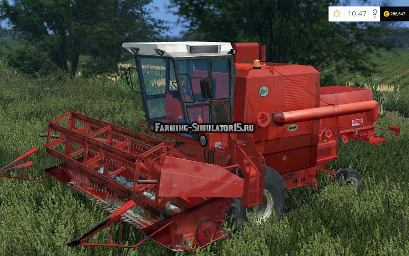Мод комбайн BIZON Z-056 Farming Simulator 15