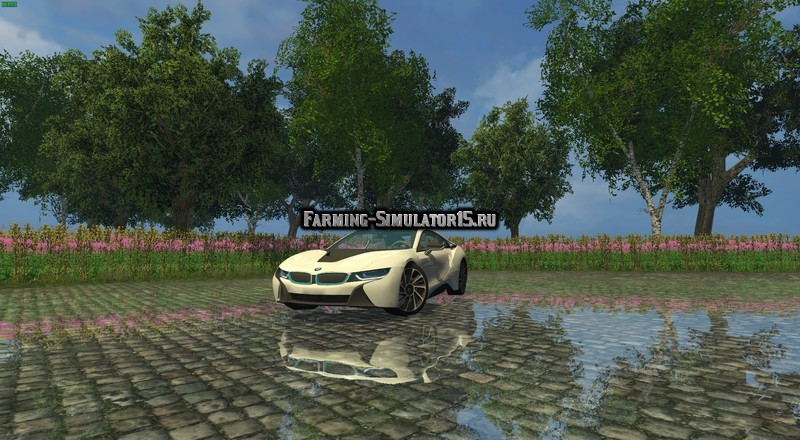 Мод авто BMW i8 eDRIVE v 1.5 Farming Simulator 2015