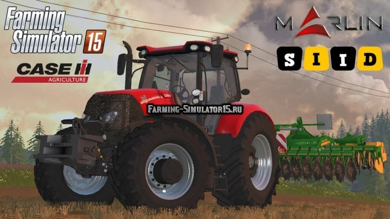 Мод трактор Case in optum CVX 300 and 270 v1.0 Farming Simulator 15